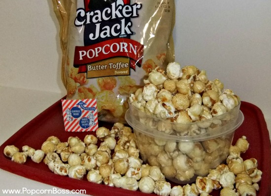 Butter Toffee Flavored Cracker Jack Popcorn