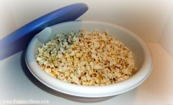 Popcorn In Large Bowl