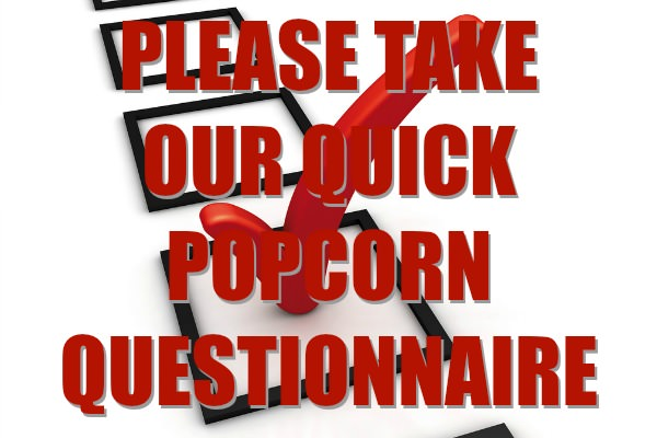 Popcorn Questionnaire Survey