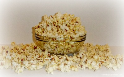 Homemade Popped Kettle Corn